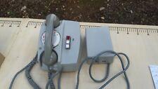TELEPHONE  VINTAGE CADRAN ROTATIF/  PICART-LEBAS/gris