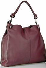 502fabceeb77 Vince Camuto NWT $278 Shiraz Purple Hobo Tote Shoulder Bag Ruell Magnetic  Snap