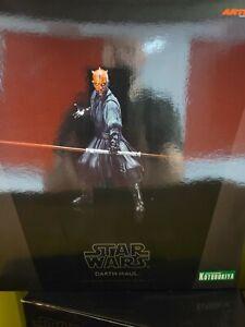 Darth Maul Figure Kotobukiya Artfx Star Wars Statue Phantom Menace Edition