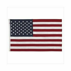3 x 5' U.S American Flag Made in USA by Valley Forge Koralex II Heavy Polyester