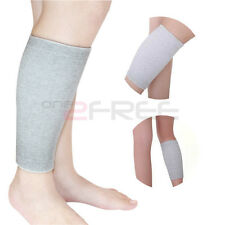 1Pair Power Ionics Bamboo Charcoal 4-Way Elastic Compression Calf Brace Support