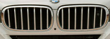 BMW Brand 2014+ F15 X5 OEM Genuine Pure Excellence Chrome Front Grille Pair