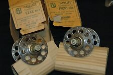 NOS BH Airlite Continental HIGH Flange TANDEM TRACK hubs 36/36 120/116 spacing
