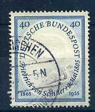 ALLEMAGNE Féd. 1955 - yvert  86 - von Schiller oblitéré