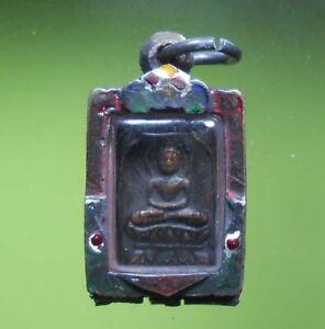 PERFECT! LP SUK OLD THAI BUDDHA AMULET PENDANT REAL RARE !!!