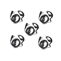 5X 2Pin Headset Earpiece Mic For Baofeng UV-5R UV-82 BF-888s Radio Walkie Talkie