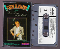 Richard Clayderman - Plays Love Songs of the World  Cassette Tape Vintage