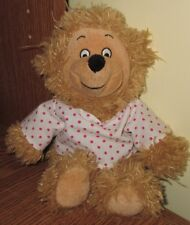 "Sister Bear Plush Berenstain Bears 10"" Pink Bow Limited Stuffed Animal Toy Bean"