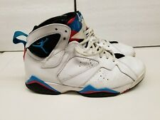 732ec169c22f0f AIR JORDAN RETRO 7  304775-105 ORION WHITE SHOES MEN SIZE 9.