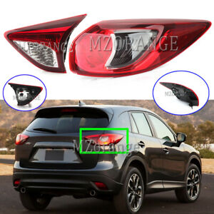 Right Side RH Outer Inner Rear Tail Light Lamp for Ford Mazda CX-5 CX5 2012-2017