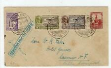 MEXICO: 1929 Uprated Air Mail postal stationery envelope (C44925)