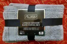 Towel Set 6-piece 100% Gray Cotton Amy Miller Home