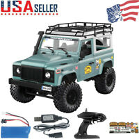 MN-90 1:12 2.4G 4WD Off-road RC Car With Spare Tire+Front LED Lights Truck RTR T