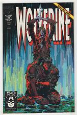 Wolverine #43 (Aug 1991 Marvel) [Sabretooth Cameo] Larry Hama, Marc Silvestri X-