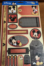 Disney Mickey Mouse Cardstock Stickers Autocollants