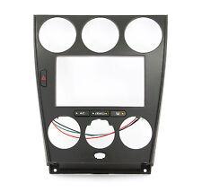 Radioblende für MAZDA 6 Doppel DIN Blende Auto Radio mit Fach schwarz 2DIN
