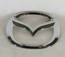 MAZDA 3 SEDAN TRUNK EMBLEM 04-09 BACK GENUINE OEM CHROME BADGE sign symbol logo
