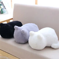 1pc Cute Plush Cushions Pillow Back Shadow Cat Animal Toys Home Decor  Kid Gifts