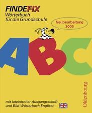 Findefix - Neubearbeitung. Wörterbuch für die Grundschule mit Bild-Wörte ... /4