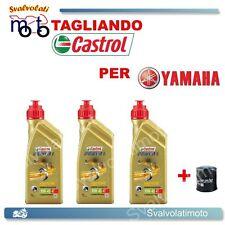 TAGLIANDO FILTRO OLIO + 3LT CASTROL POWER1 10W40 YAMAHA YZF R1 1000 2000