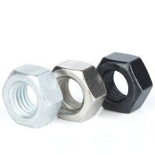 Carbon Steel - Hex Full Nuts Hexagon Nut - M2 M2.5 M3 M4 M5 M6