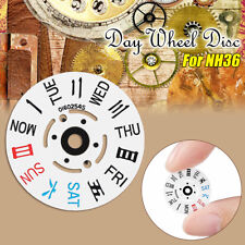 White Day Wheel Disc With English / Chinese Includes Cog Diameter 17mm For NH36