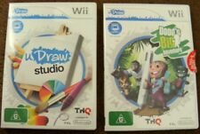 U-Draw Tablet   NINTENDO Wii  GAMES x2 ~  Dood's Big Adventure  + U DRAW  Studio