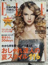 Elle Japan July 2010 Taylor Swift Cover