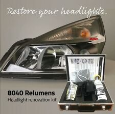 KIT rinnova RIPRISTINO lucidatura FARI POLIMERO LIQUIDO Headlight renovation kit