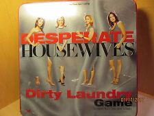 Desperate Housewives Dirty Laundry Game -Tin Metal Box - Factory Sealed
