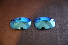 PolarLenz POLARIZED Ice Blue Replacement Lens for-Oakley Split Jacket sunglasses