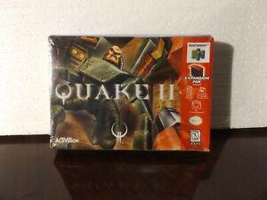 Video Game Nintendo 64 N64 Quake II 2 NEW SEALED
