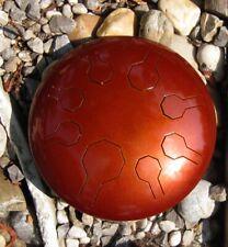 Steel Tongue Drum, Handpan, EDELSTAHL - Earth Mini-Vibe – 8 Töne- 25 cm - Galaxy