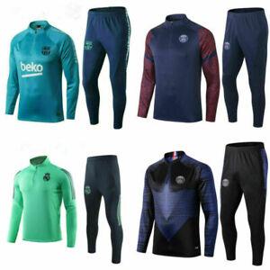 Kids Bottoms 20-21 Sportswear Boys Soccer Football Tracksuit Training Suit Tops