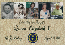 More details for grenada 2021 mnh royalty stamps queen elizabeth ii 95th birthday 5v m/s