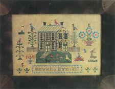 10% Off The Scarlett House counted X-stitch chart-Henrietta Binns 1837