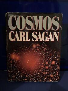 Cosmos Carl Sagan Hardcover Book 1980