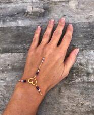 LOVE CHILD HAND BRACELET IN GOLD