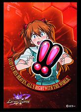 Neon Genesis Evangelion Asuka Langley Card Game Character Sleeve Vol.2 Anime Art
