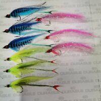 9x ultimate BASS Saltwater flies BABY MACKREL fly orvis fulling mill size2 10cm