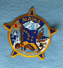 New listing Alaska State Troopers Police Patch Vintage
