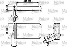 Heat Exchanger, interior heating VALEO 812031