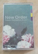 New Order - 1983 Power, Corruption & Lies Cassette - Tested - Vg Condition