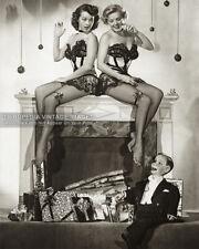 1940s Photo Edgar Bergen's *Charlie McCarthy* Dummy Pinup Girls Christmas Mantle
