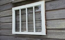 Vintage Sash Antique Wood Window Picture Frame Pinterest Rustic 24x19 4 Pane