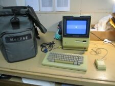 Vintage Apple Macintosh 512K Computer M0001E with MacBag