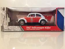VW Beetle 1967 Zurich Fire Department Swiss 1:18 Scale Greenlight 12854