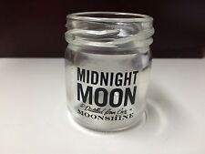 "***NEW***  Set of 4 MIDNIGHT MOON ""MOONSHINE"" mason jar SHOT GLASSES"