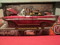 M2 Machines 1957 Chevrolet Bel Air Convertible  NIB  1:24 Scale 1/5,880  made