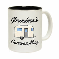 Grandma's Caravan Novelty Tea Camping Camper Van MUG birthday office funny gift